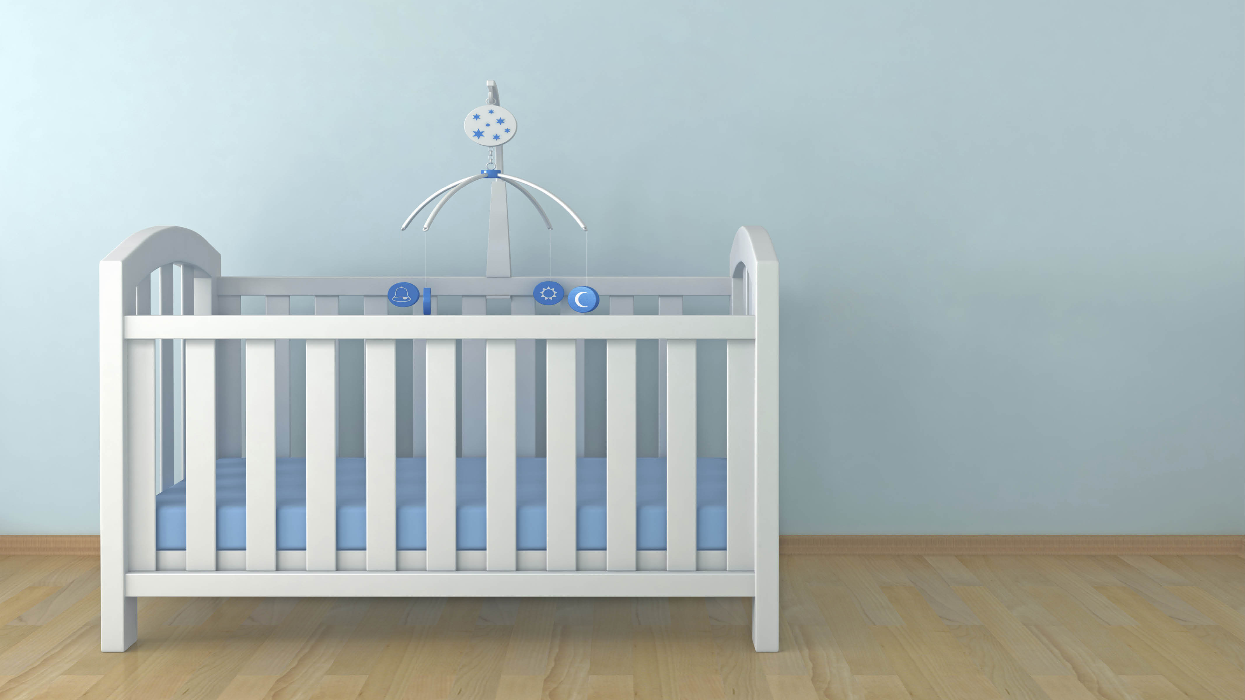 Blue has a calming effect on the body and can even reduce your blood pressure. This will come as good news to parents struggling to coax their baby into a regular sleeping pattern.