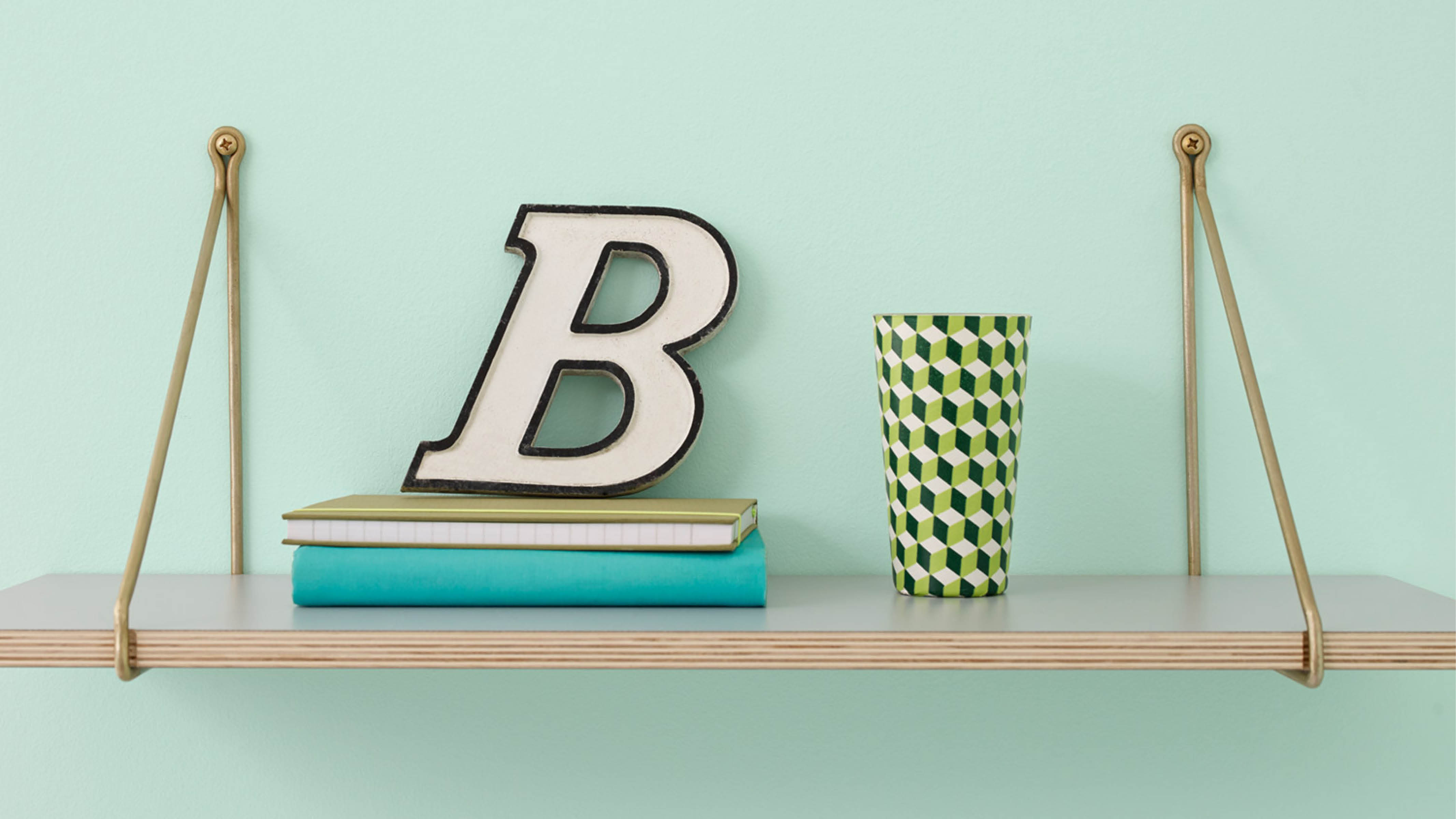 Incorporating words and letters will add instant personality to your baby's nursery.