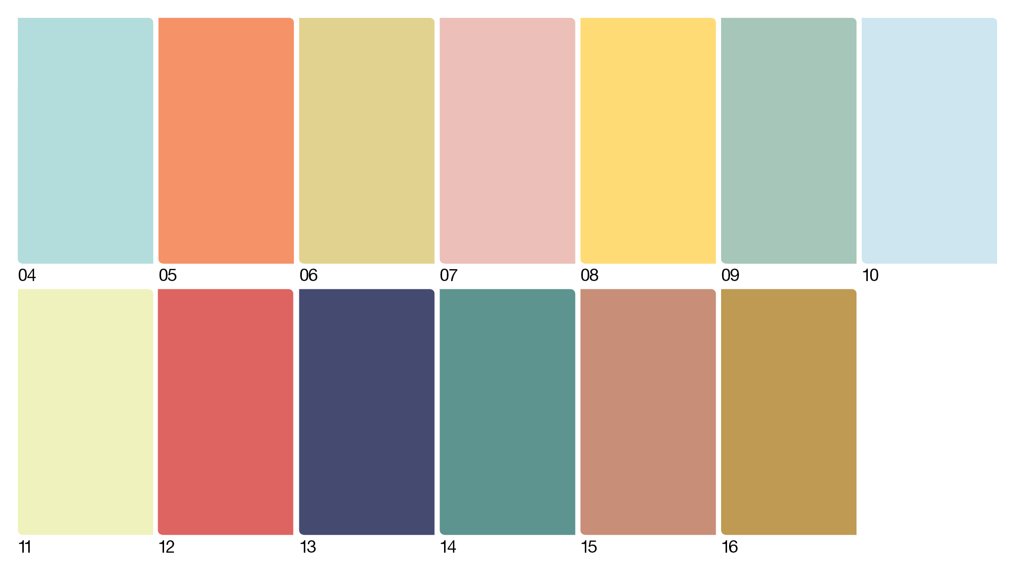 Colour futures colour trends 04-16