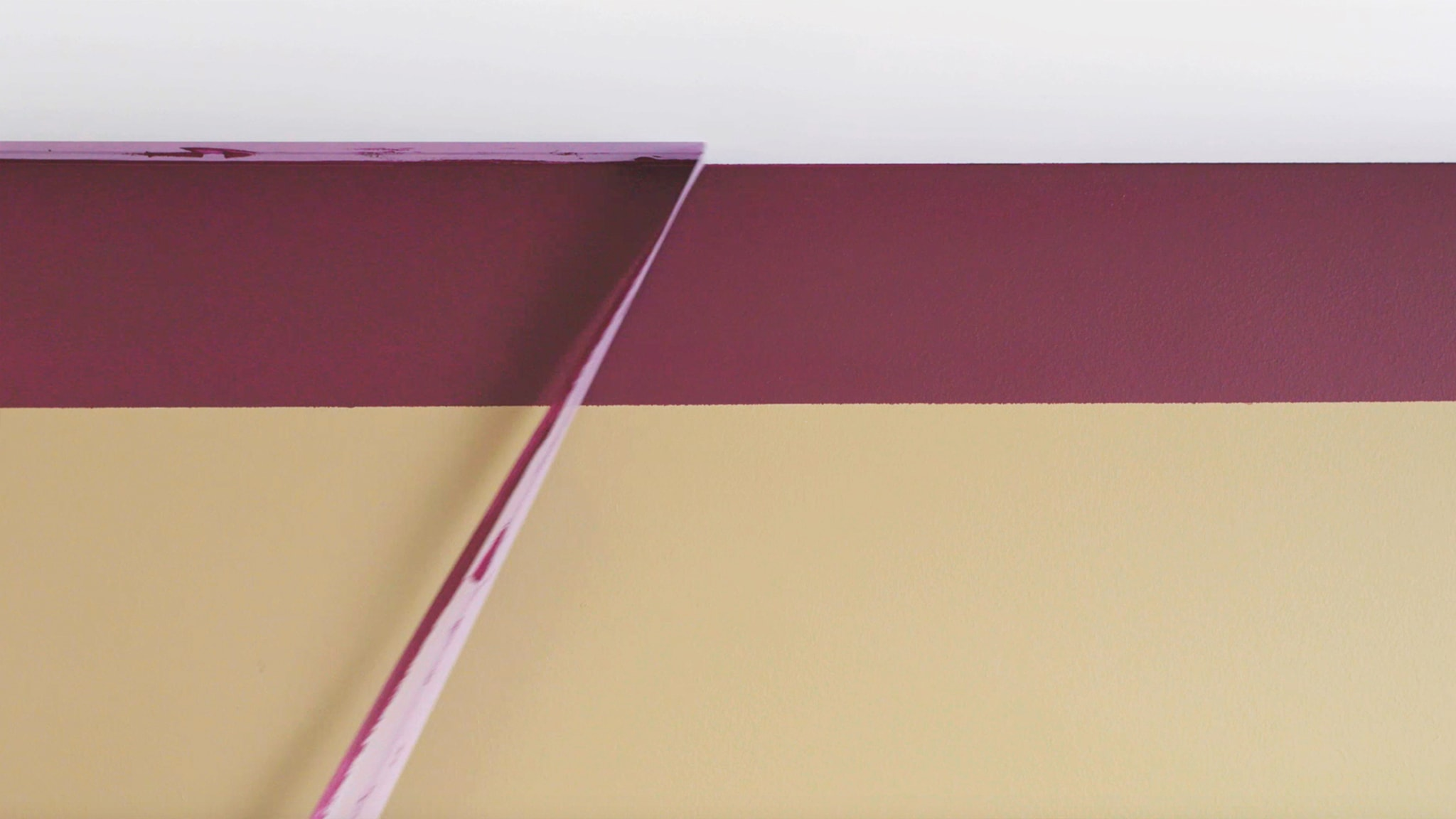 Deco-Paints-Colour-Futures-Colour-of-the-Year-2019-How-to-ceiling-stripe-6