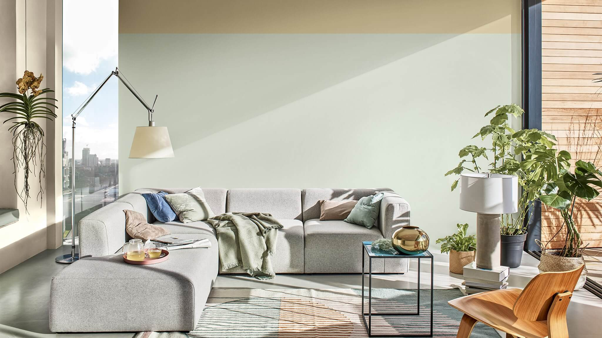 Dulux Colour Of The Year 2020 Tranquil Dawn Interior And Exterior Colour Paints Decorating Ideas Dulux