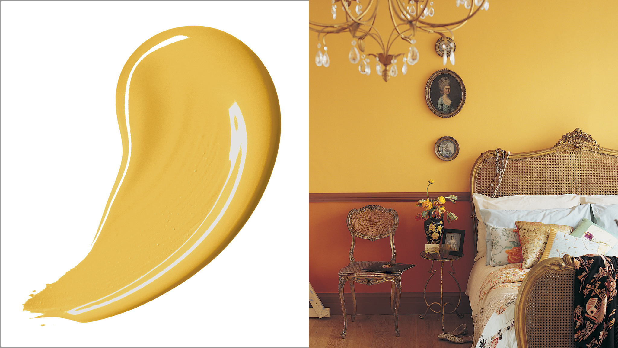 Gold tones ooze opulence, making them the perfect choice if you want to surround your guests with luxury.