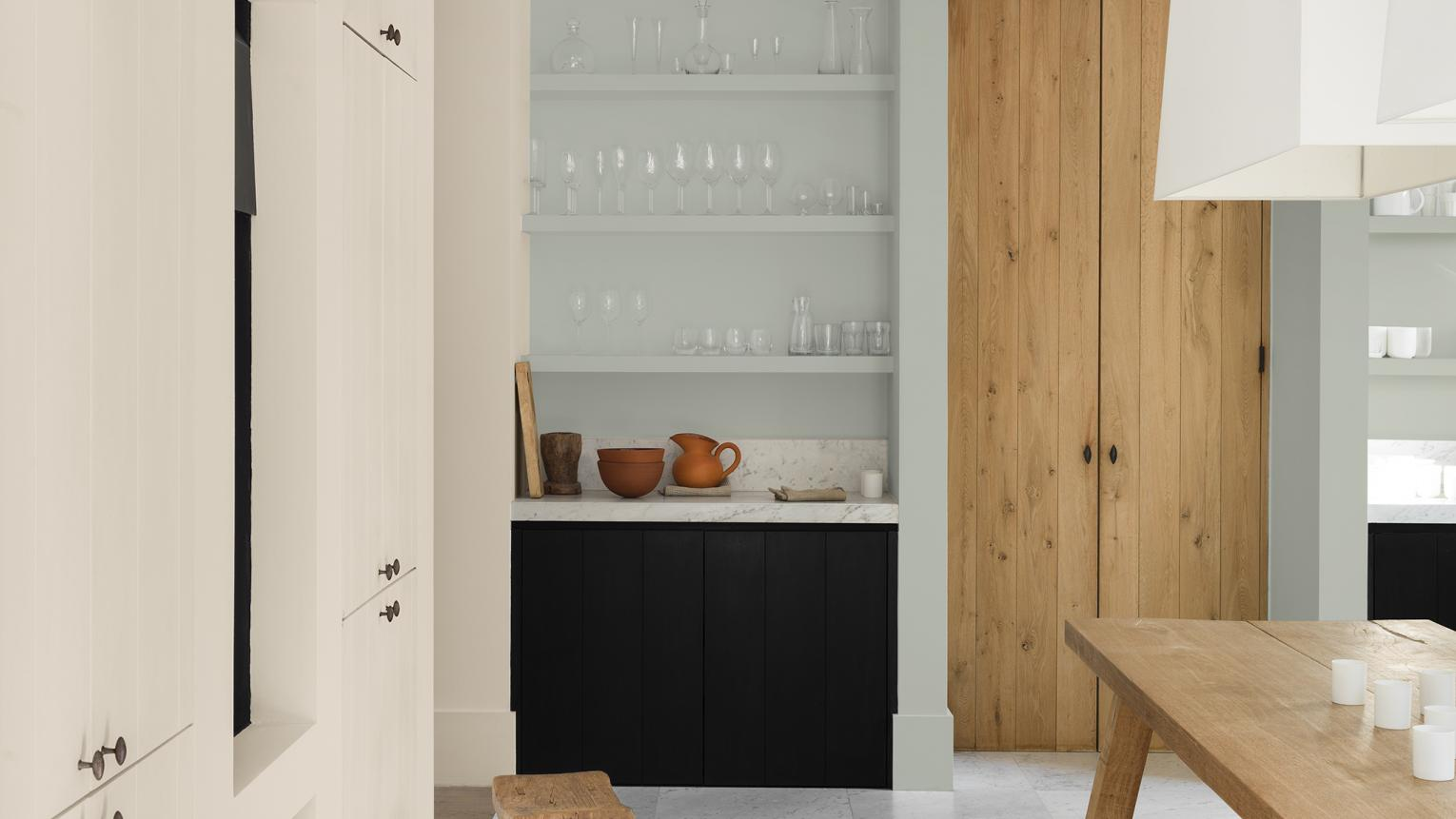 Decorating a busy family kitchen? Create a space that works for all occasions with a clever colour scheme.
