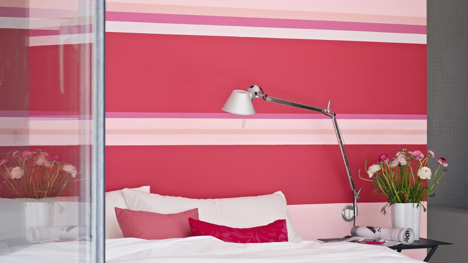 Want to make a fashionable statement in your home? Try decorating with shocking pink.