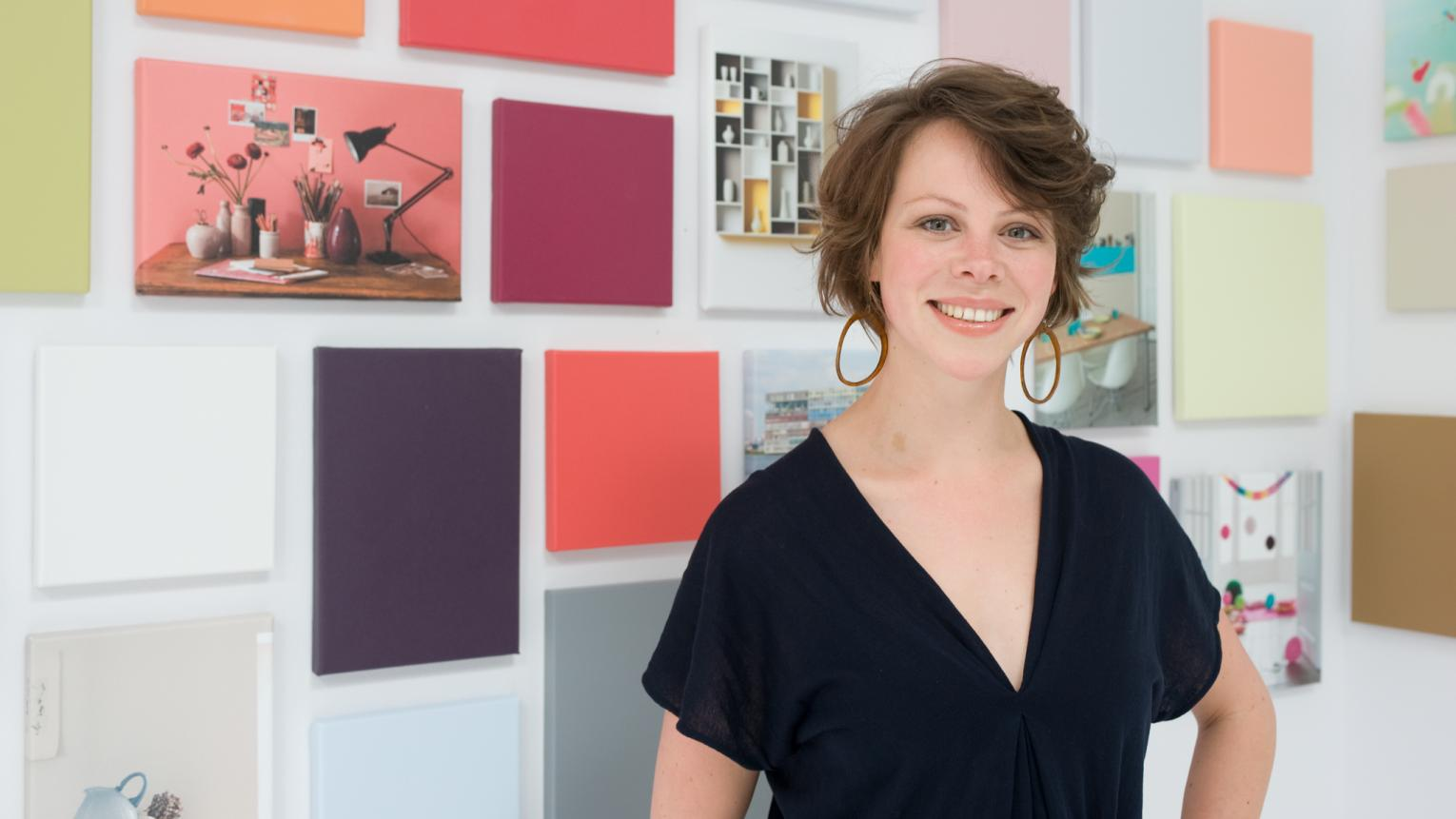Marieke uses her colour expertise to create colour collections and tools that help people find the colour they love.