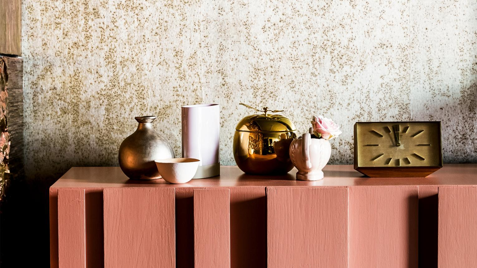 Discover how to decorate your home with warm, lustrous copper orange – our 2015 Colour of the Year.