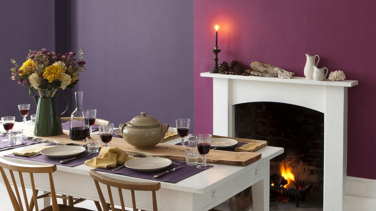 Feeding the family? Entertaining the masses? Use colour to create an intimate dining space that radiates warmth.