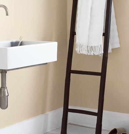 Follow our step-by-step guide to preparing and painting your bathroom.