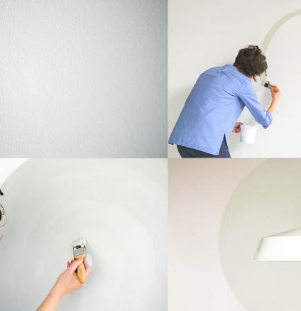 Follow this step-by-step guide to painting a circle and discover how it's the perfect feature for framing accessories.